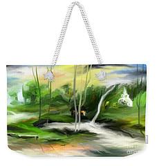 Retreat Weekender Tote Bag by Rushan Ruzaick