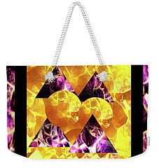 Retro Abbey  Weekender Tote Bag by Gayle Price Thomas