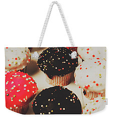 Retro Cake Stand Weekender Tote Bag