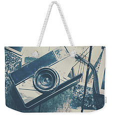 Retro Camera And Instant Photos Weekender Tote Bag