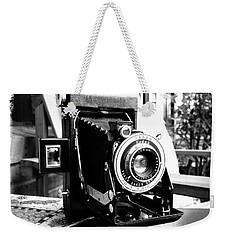 Retro Camera Weekender Tote Bag