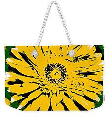Retro Daisy Weekender Tote Bag by Marsha Heiken