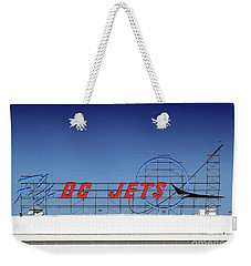Retro Fly Dc Jets Neon Signage Weekender Tote Bag