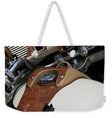 Retro Look Weekender Tote Bag