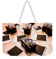 Retro Photographic Scene Weekender Tote Bag