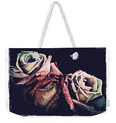 Retro Roses Weekender Tote Bag