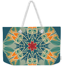 Weekender Tote Bag featuring the photograph Retro Surfboard Woodcut by Mary Machare