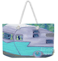 Retro Trailer Weekender Tote Bag