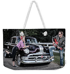 Weekender Tote Bag featuring the photograph Retro Tunes by Brad Allen Fine Art