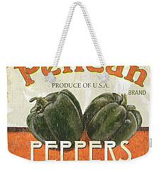 Retro Veggie Labels 3 Weekender Tote Bag