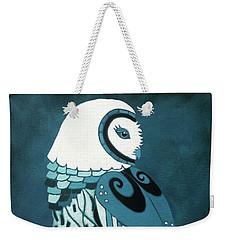Retrospect In The Moonlight Owl Weekender Tote Bag