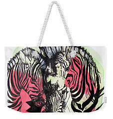 Return Of Zebra Boy Weekender Tote Bag
