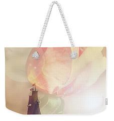 Return Safely Weekender Tote Bag by Mark Alder