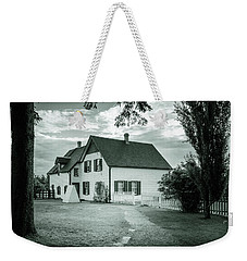 Weekender Tote Bag featuring the photograph Returning From Lovers Lane by Chris Bordeleau