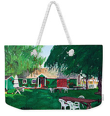 Retzlaff Winery Weekender Tote Bag by Mike Robles