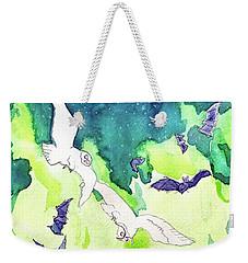 Reve De La Lune Weekender Tote Bag