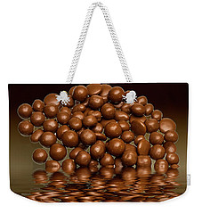 Weekender Tote Bag featuring the photograph Revels Chocolate Sweets by David French