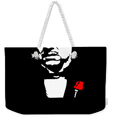 Revenge Is A Dish Best Served Cold - The Godfather Poster Weekender Tote Bag