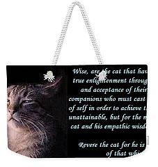 Revere Cat Weekender Tote Bag