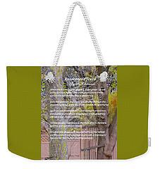 Reverence Of Trees Weekender Tote Bag