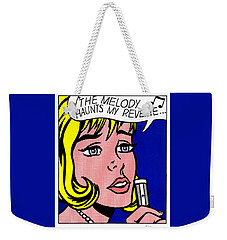 Reverie Weekender Tote Bag by Roy Lichtenstein