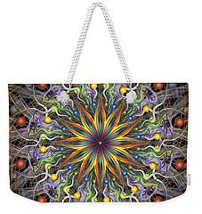 Reverse Cosmosis Weekender Tote Bag