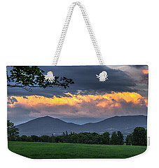 Reverse Sunset Weekender Tote Bag by Tim Kirchoff