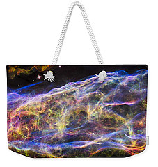 Weekender Tote Bag featuring the photograph Revisiting The Veil Nebula by Adam Romanowicz