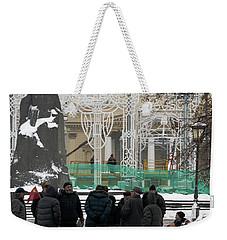Revolution Square Weekender Tote Bag