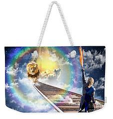Reward Weekender Tote Bag by Dolores Develde