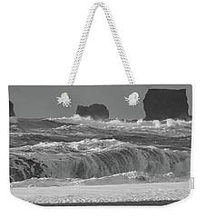 Reynisfjara Beach Vik Iceland 6845 Weekender Tote Bag