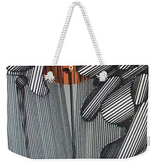 Weekender Tote Bag featuring the drawing Rfb0100 by Robert F Battles