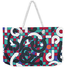 Weekender Tote Bag featuring the drawing Rfb1008 by Robert F Battles
