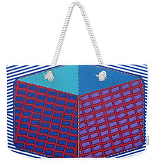 Weekender Tote Bag featuring the drawing Rfb1016 by Robert F Battles