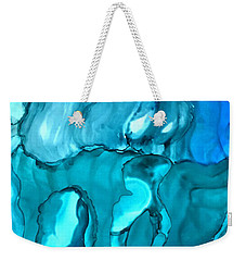 Rhabsody In Blue Weekender Tote Bag
