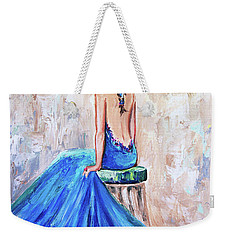 Rhapsody In Blue Weekender Tote Bag