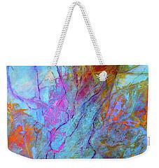 Rhapsody In Blue Weekender Tote Bag by Mary Sullivan