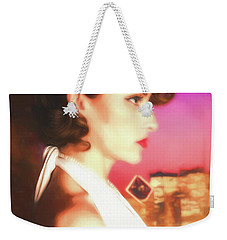 Weekender Tote Bag featuring the photograph Rhapsody In Profile  ... by Chuck Caramella