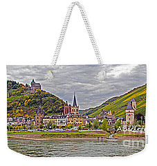 Rhine In Fall Weekender Tote Bag