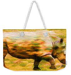 Rhinocerace Weekender Tote Bag