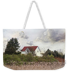 Weekender Tote Bag featuring the photograph Rhode Island Red by Robin-Lee Vieira