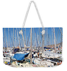 Rhodes Cup Yacht Race At Tilos Weekender Tote Bag