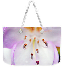 Rhododendron Blossom Too Weekender Tote Bag