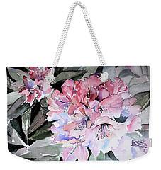 Rhododendron Rose Weekender Tote Bag