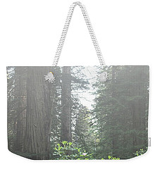Rhododendrons In The Fog Weekender Tote Bag