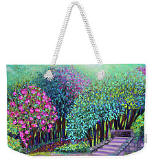 Rhododendrons In The Sunken Garden Weekender Tote Bag