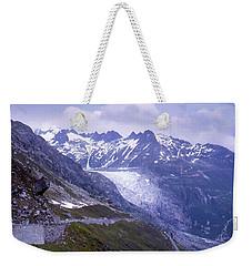 Rhone Glacier, Switzerland Weekender Tote Bag