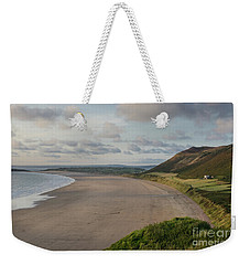 Rhossili Bay, South Wales Weekender Tote Bag