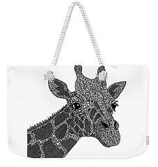 Rhymes With Giraffe Weekender Tote Bag by Laura McLendon