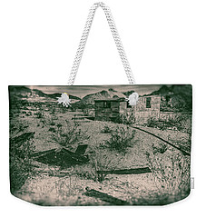 Rhyolite Nevada Ghost Town Shack Weekender Tote Bag